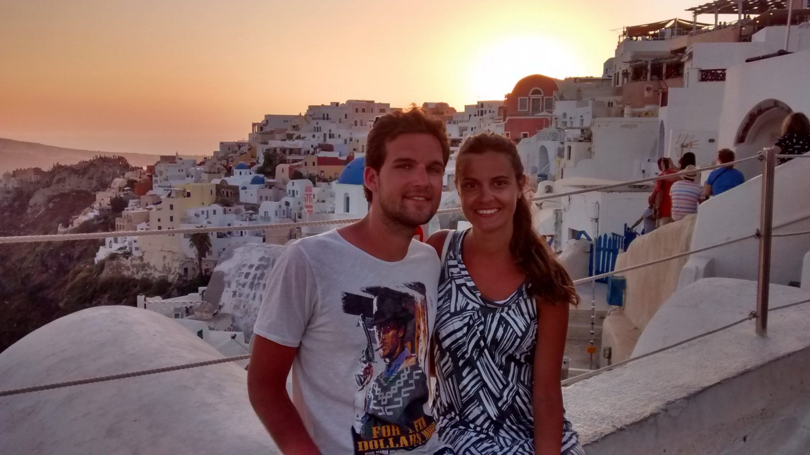 Our summer in the amazing Santorini.