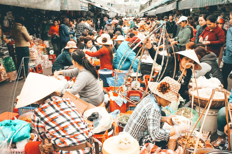 Con Market DaNang how to go