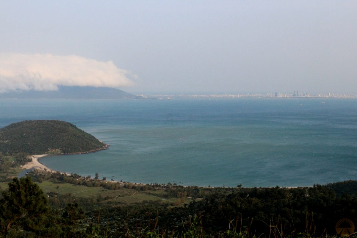 View from Hai Van pass - backpackers hostel
