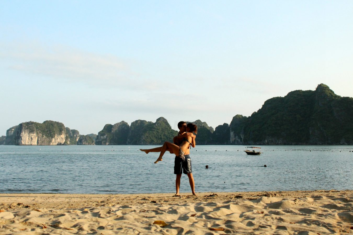 #worldkissproject in Ha Long Bay