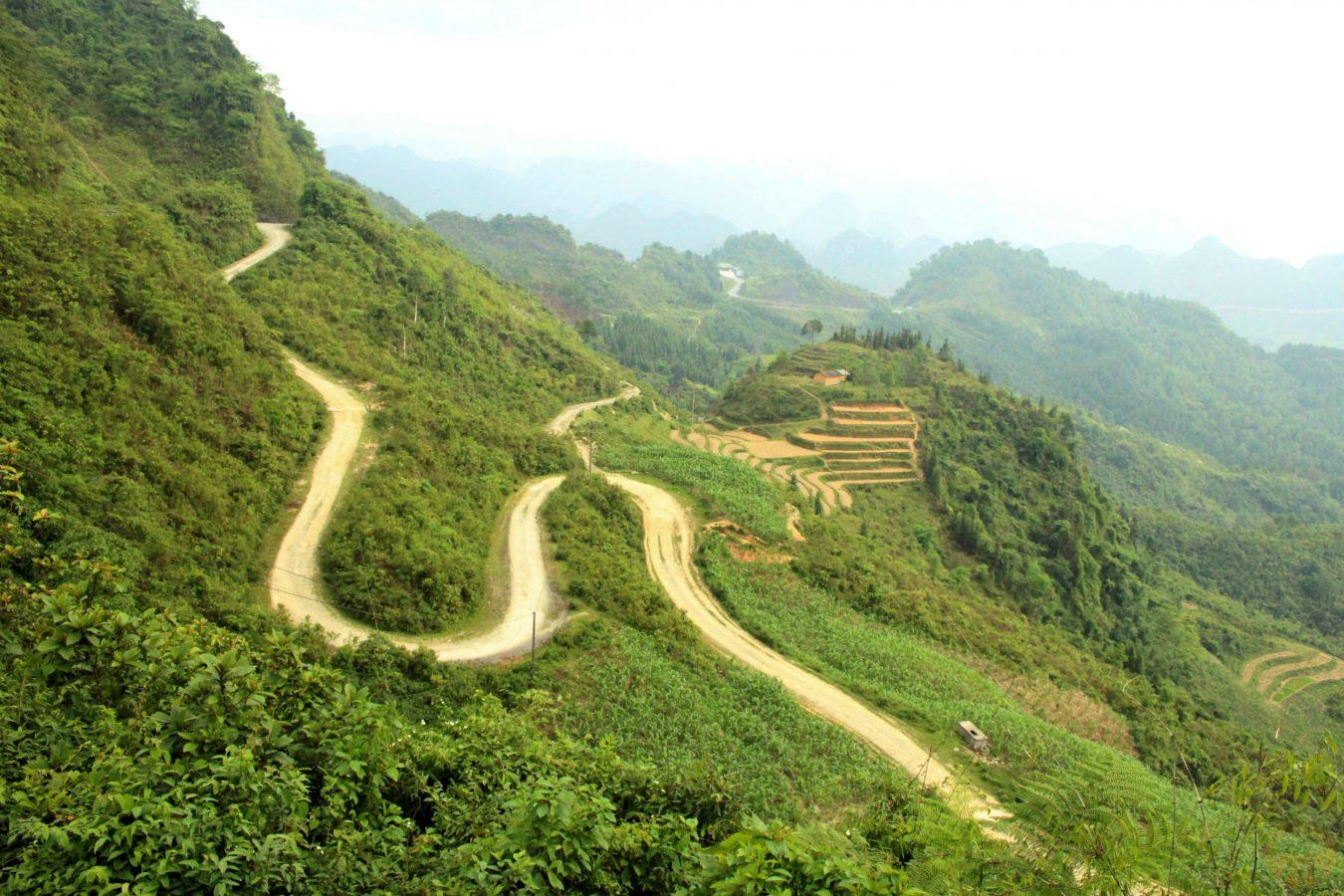 Up to Quan Ba pass