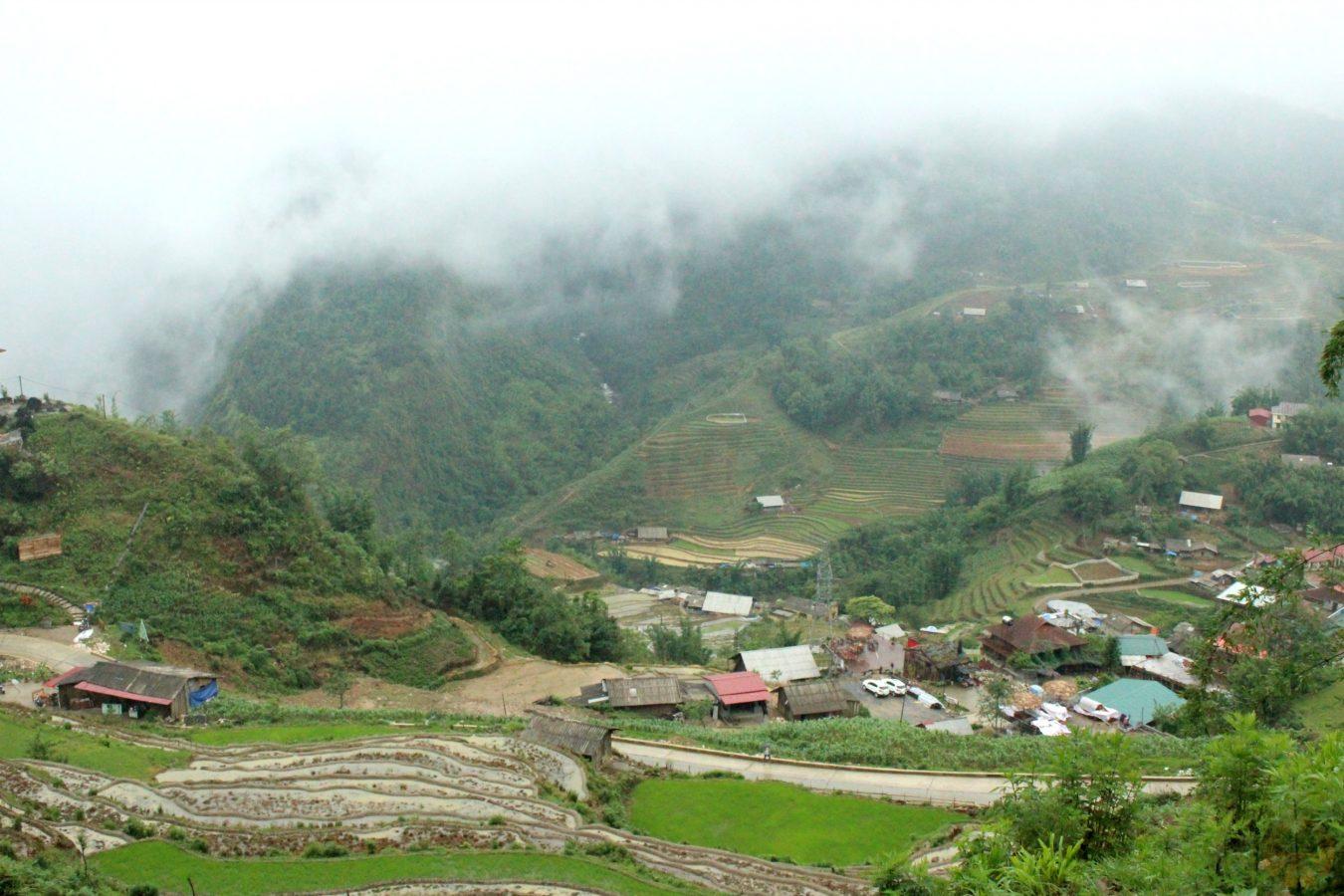 Panorama from Sa Pa