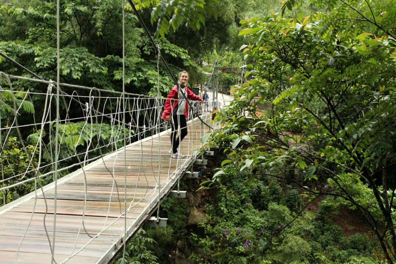 Bridge at Cat Cat village