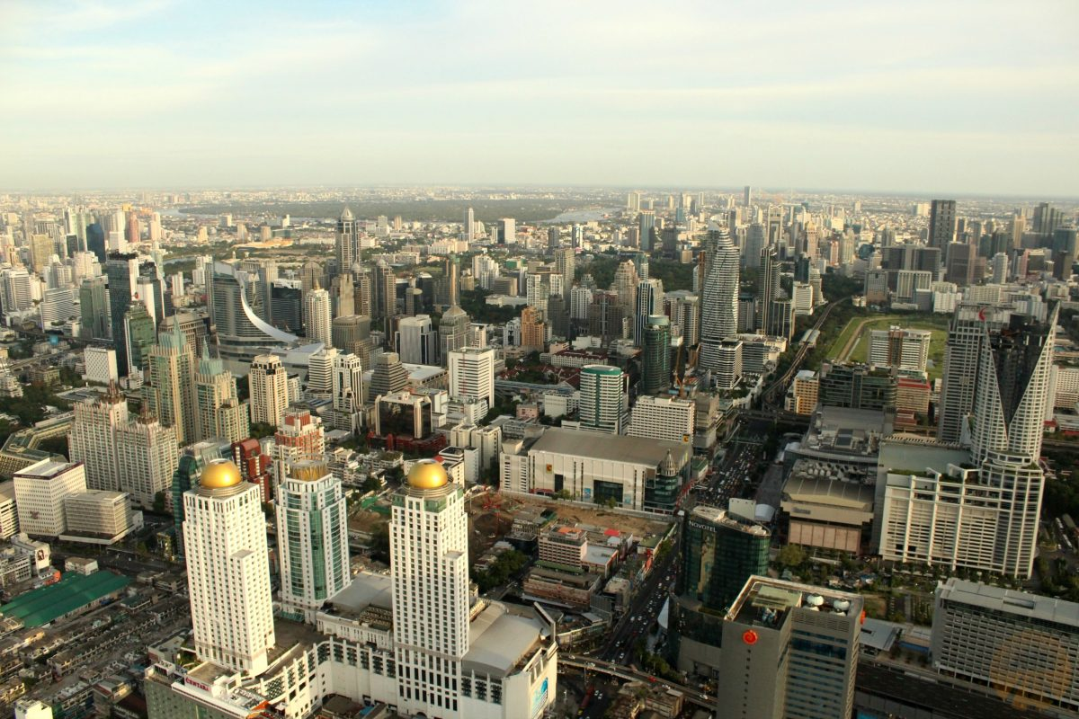 Bangkok from the top