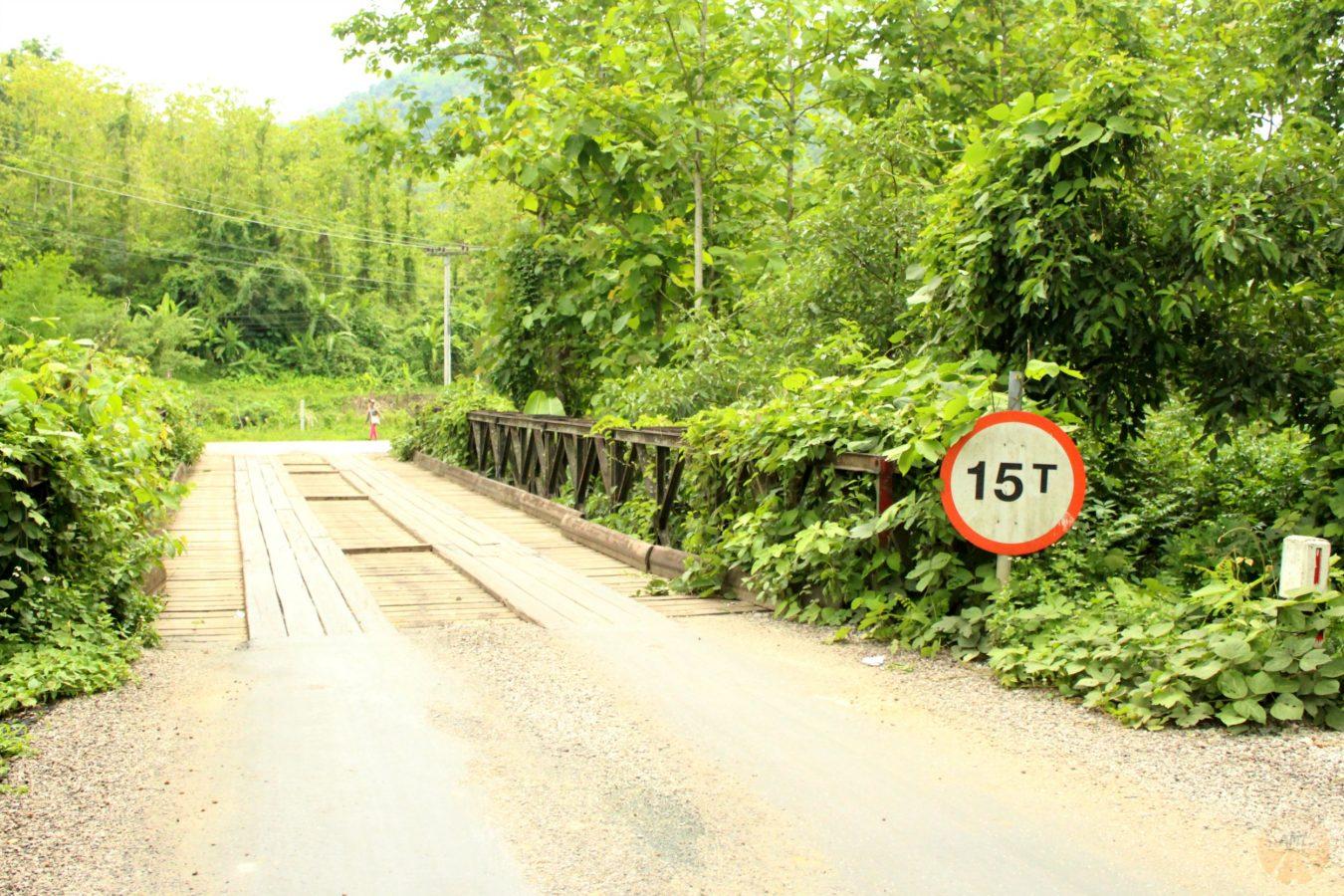 Bridges along the road