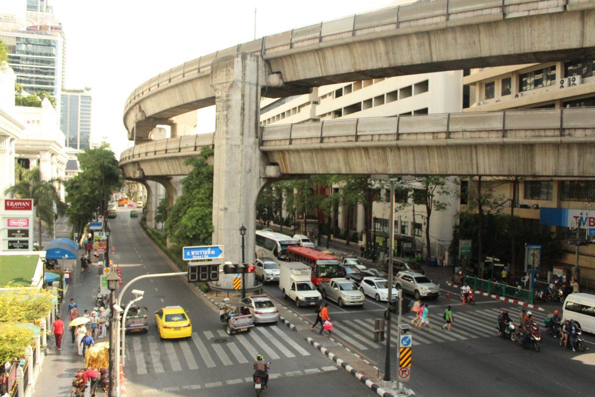 Scorcio sui dintorni di Siam Square