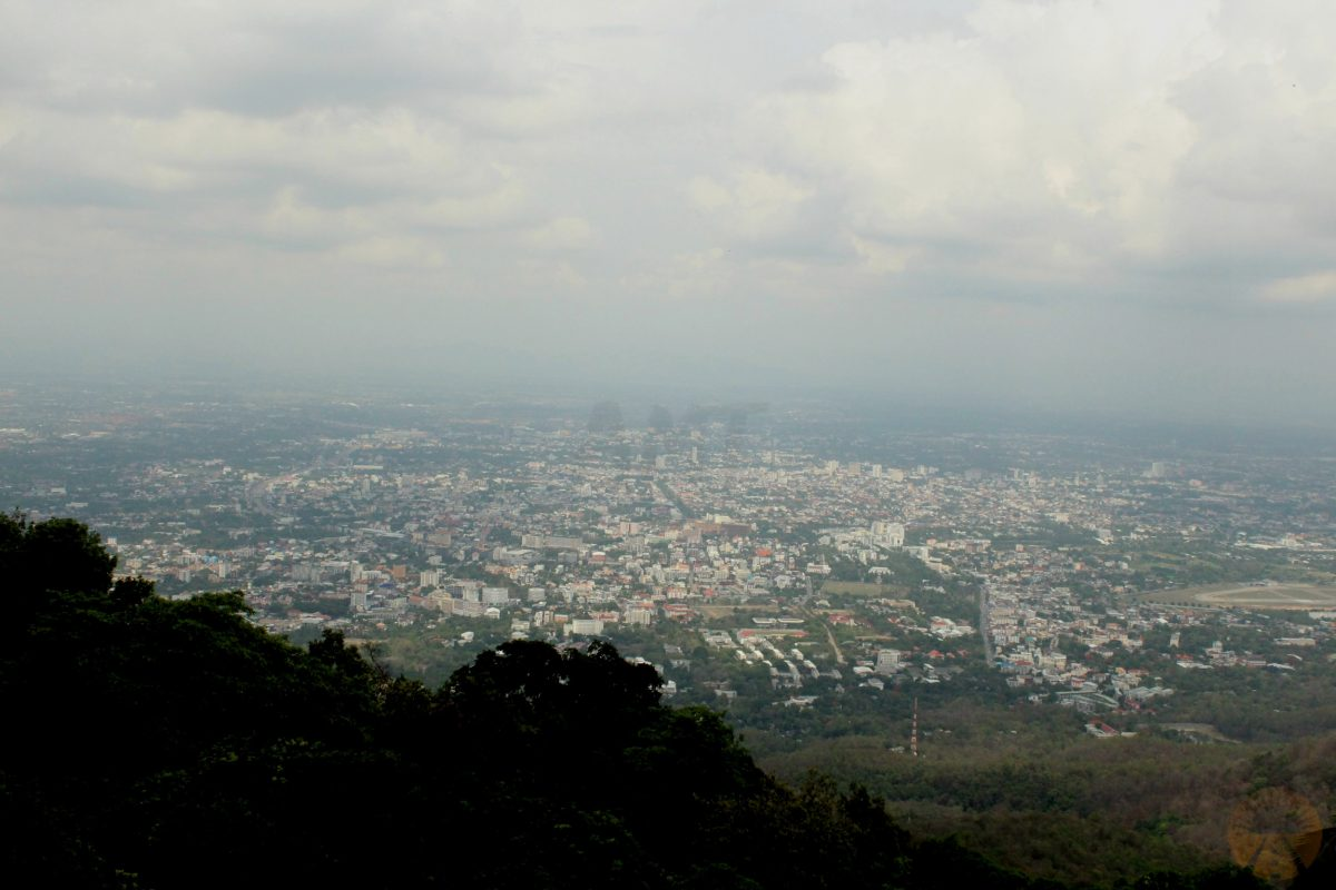 Chiang Mai from the viewpoint