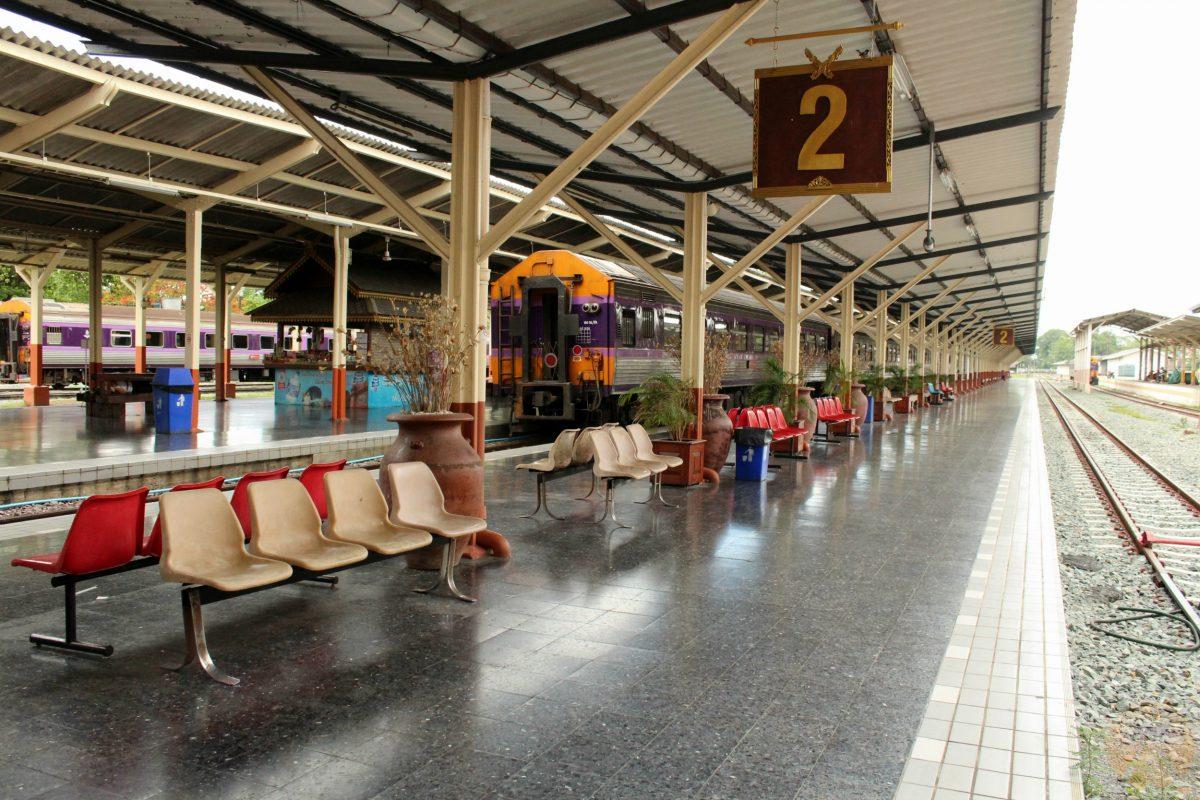 At Chiang Mai train station