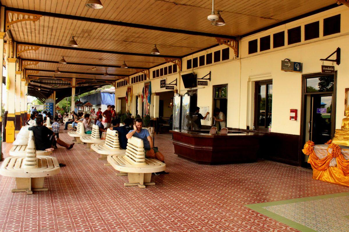 Stazione ferrioviaria di Ayutthaya
