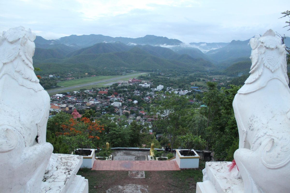 View over Mae Hong Son what to do