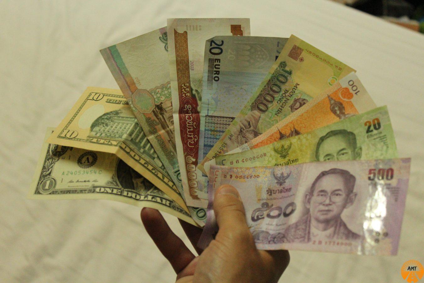 Lots of currencies!