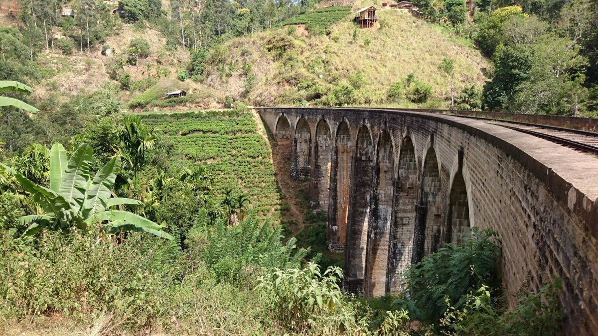 9 Arches Bridge, Ella, Sri Lanka