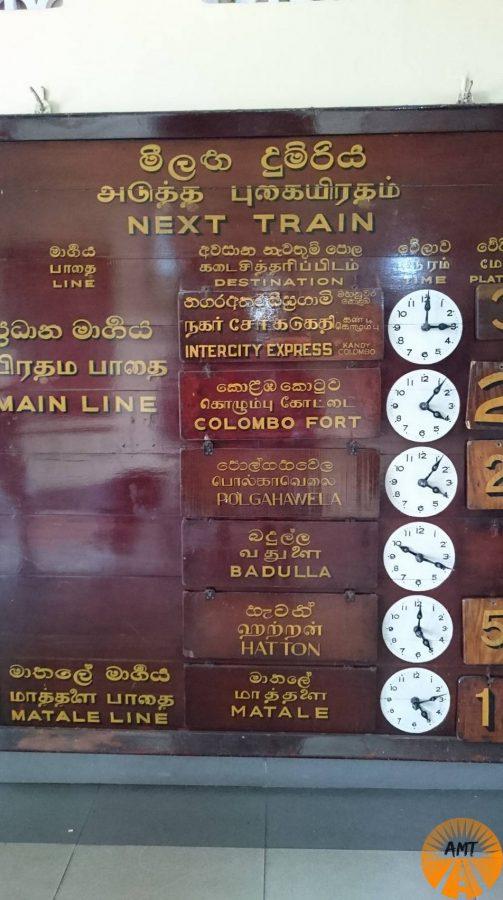 Stazione ferroviaria di Kandy, Sri Lanka