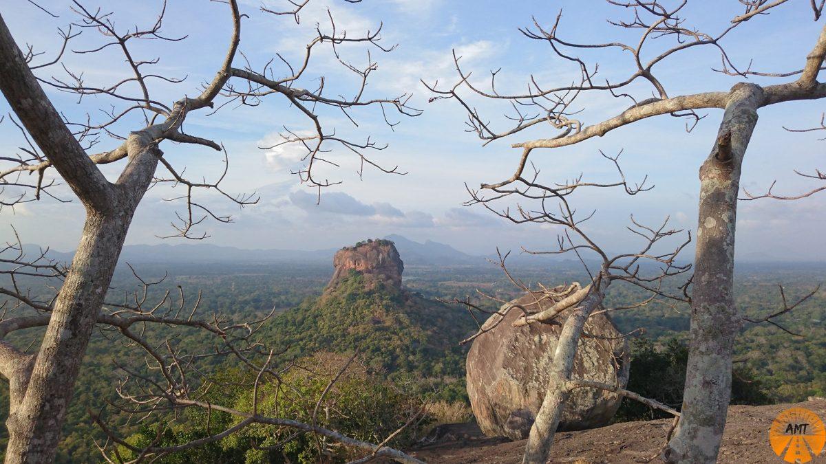 Sigiriya Rock, Pidurangala, Sri Lanka