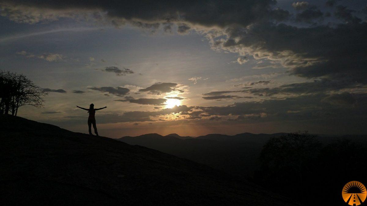 Pidurangala Rock, sunrise, Sigiriya, Sri Lanka