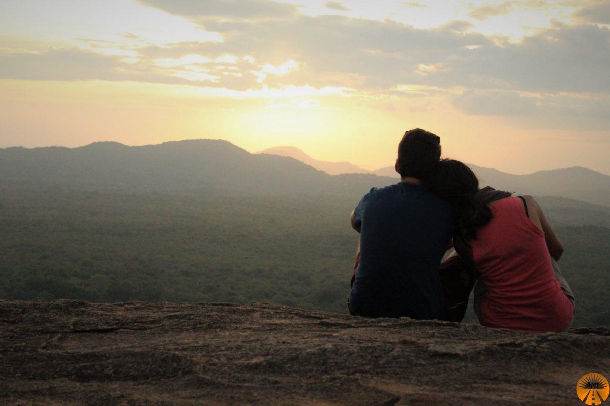 Sunrise at Pidurangala Rock, Sri Lanka