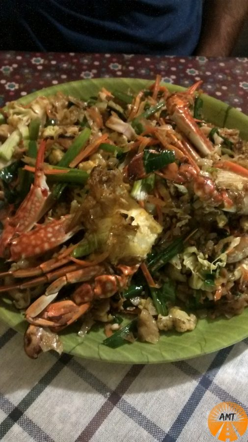 Kotthu cosa mangiare a Trincomalee Sri Lanka