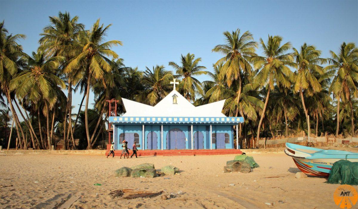 Chiesa cristiana, Uppuveli Beach, Trinco, Sri Lanka