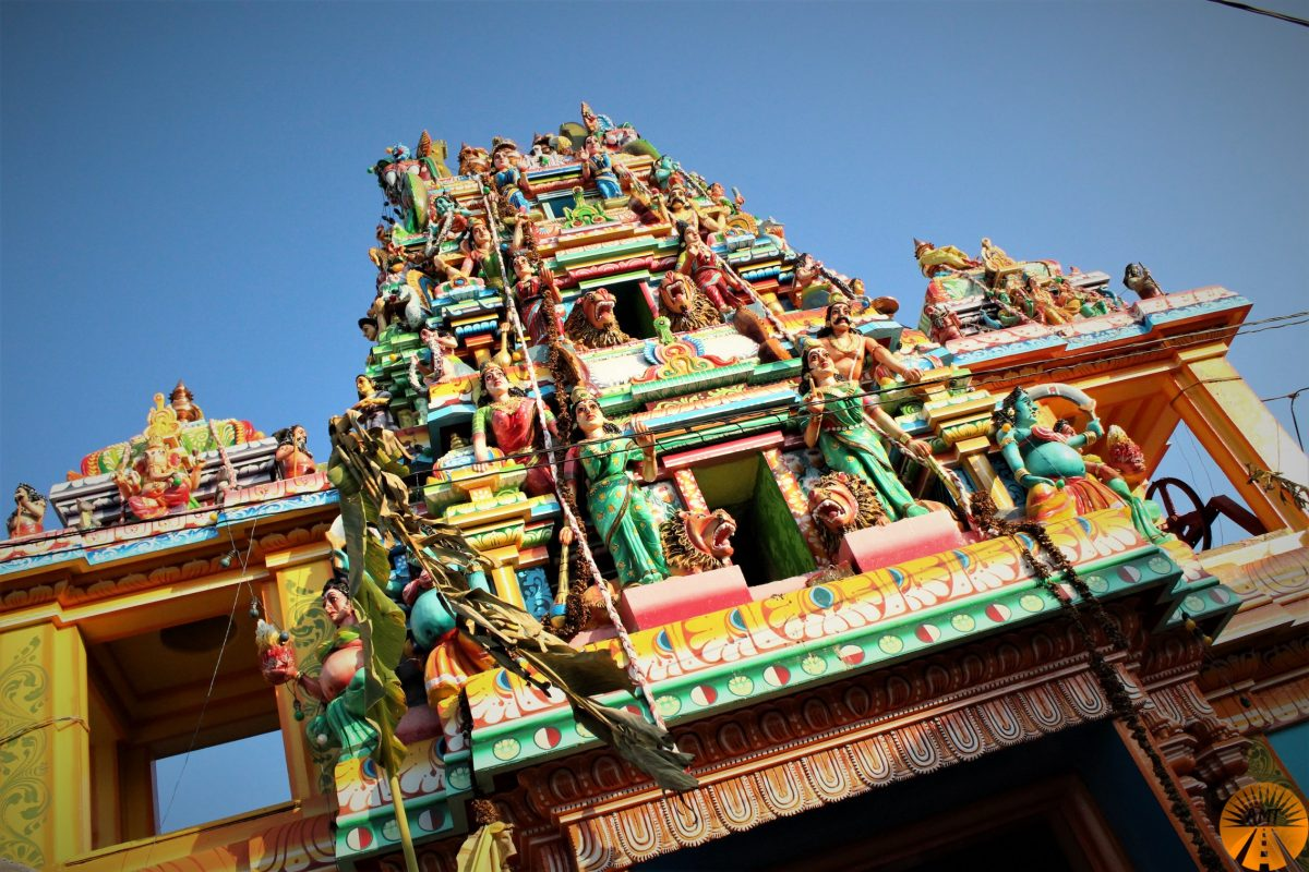 Tempio Tamil, Trincomalee. Sri Lanka