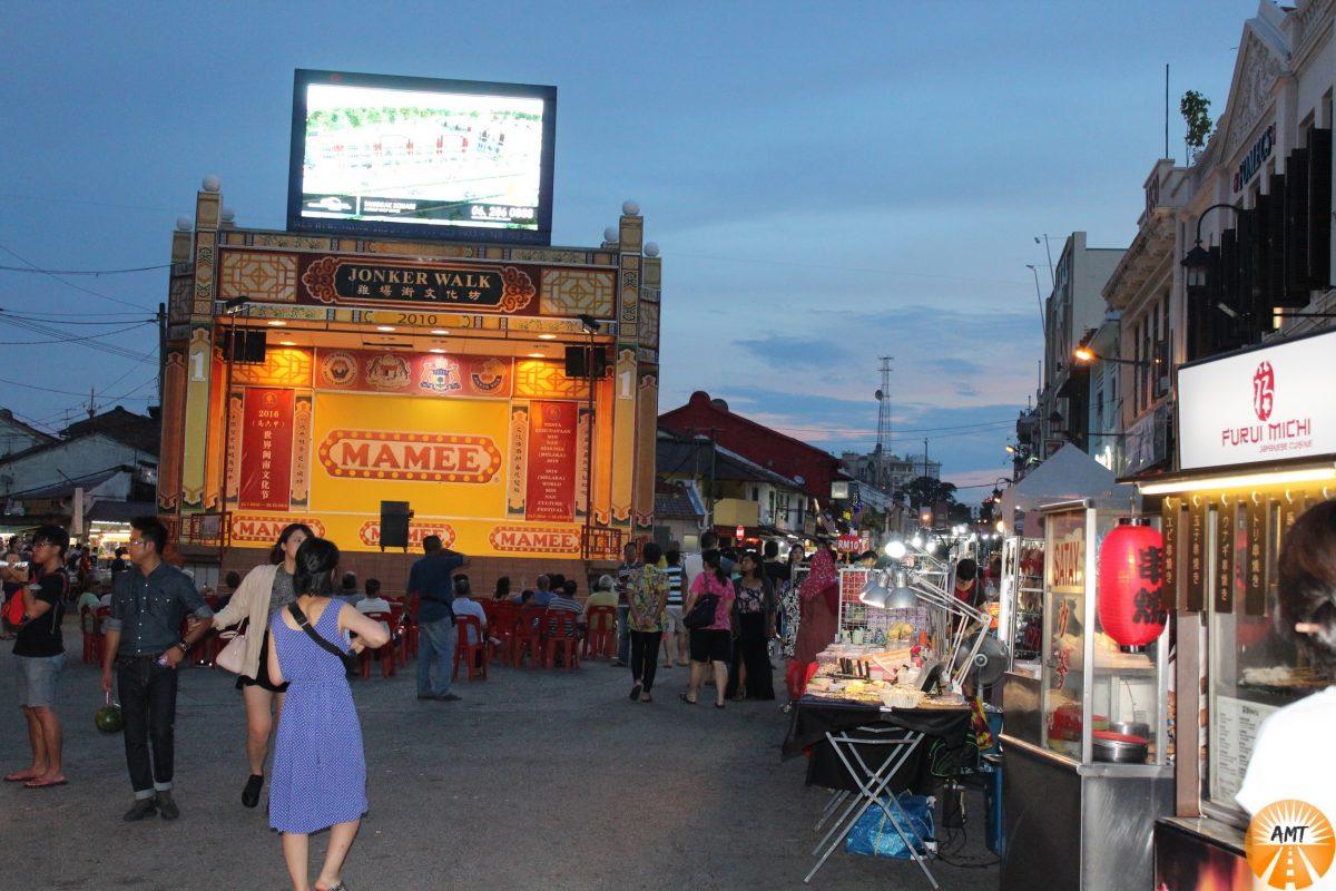 Jonker's Street, Melaka, Malaysia
