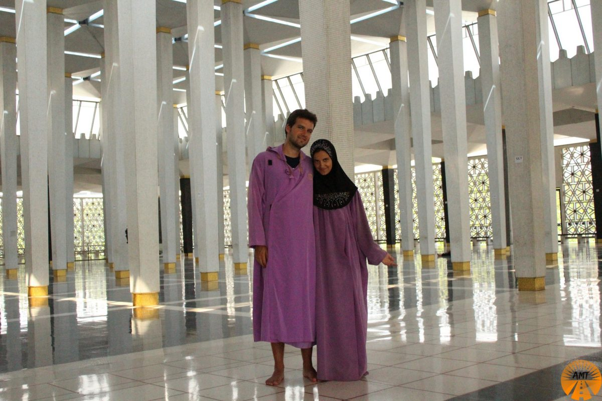 Masjid Negara Mosque, Kuala Lumpur, Malaysia National Mosque