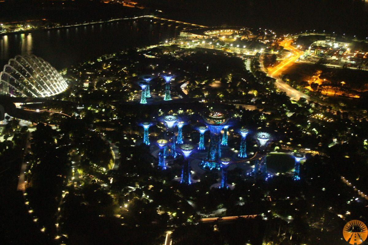 vista tetto hotel marina bay singapore