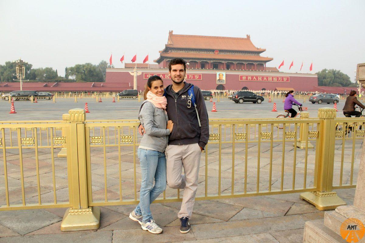 A Million Travels @Forbidden City, Tien'anmen Gate
