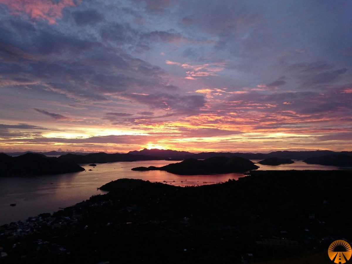 Mount Tapyas Coron sunset
