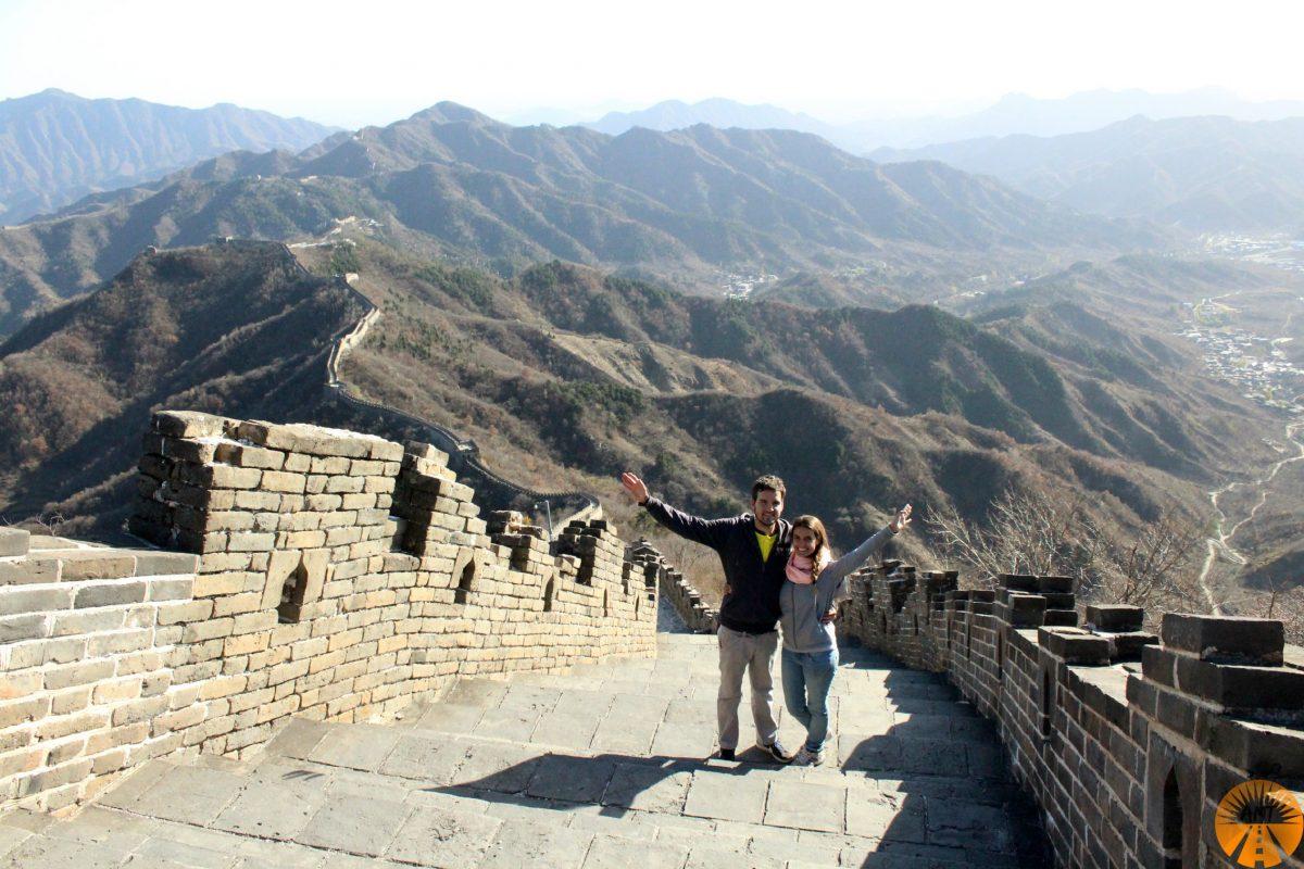 A Million Travels grande muraglia cinese