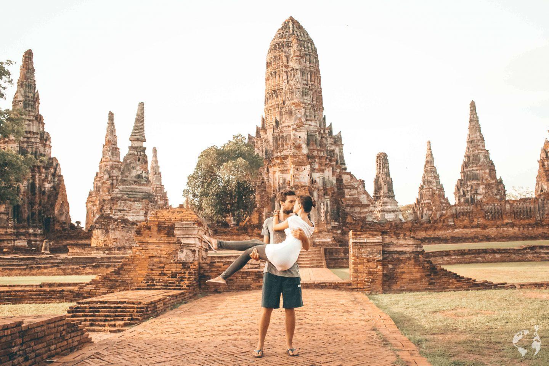 itinerary Thailand Ayutthaya
