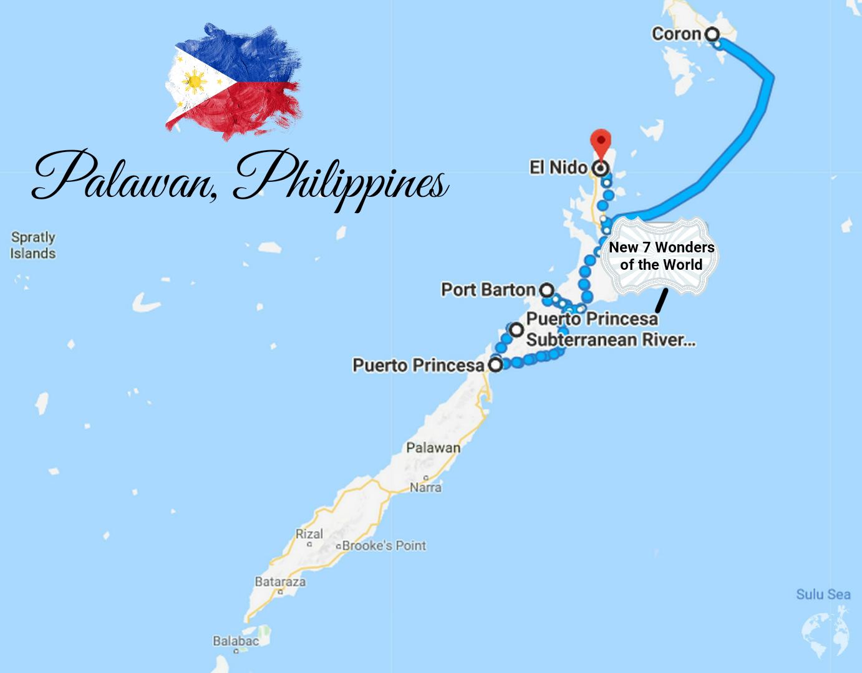 palawan itinerary what to visit