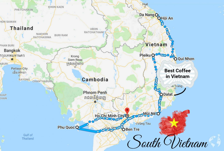 sud vietnam cosa vedere
