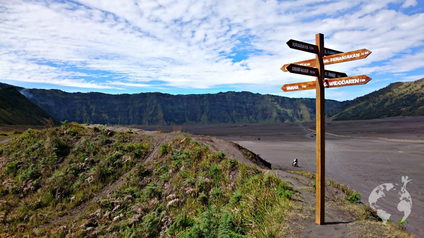 Bromo map best viewpoint sunrise