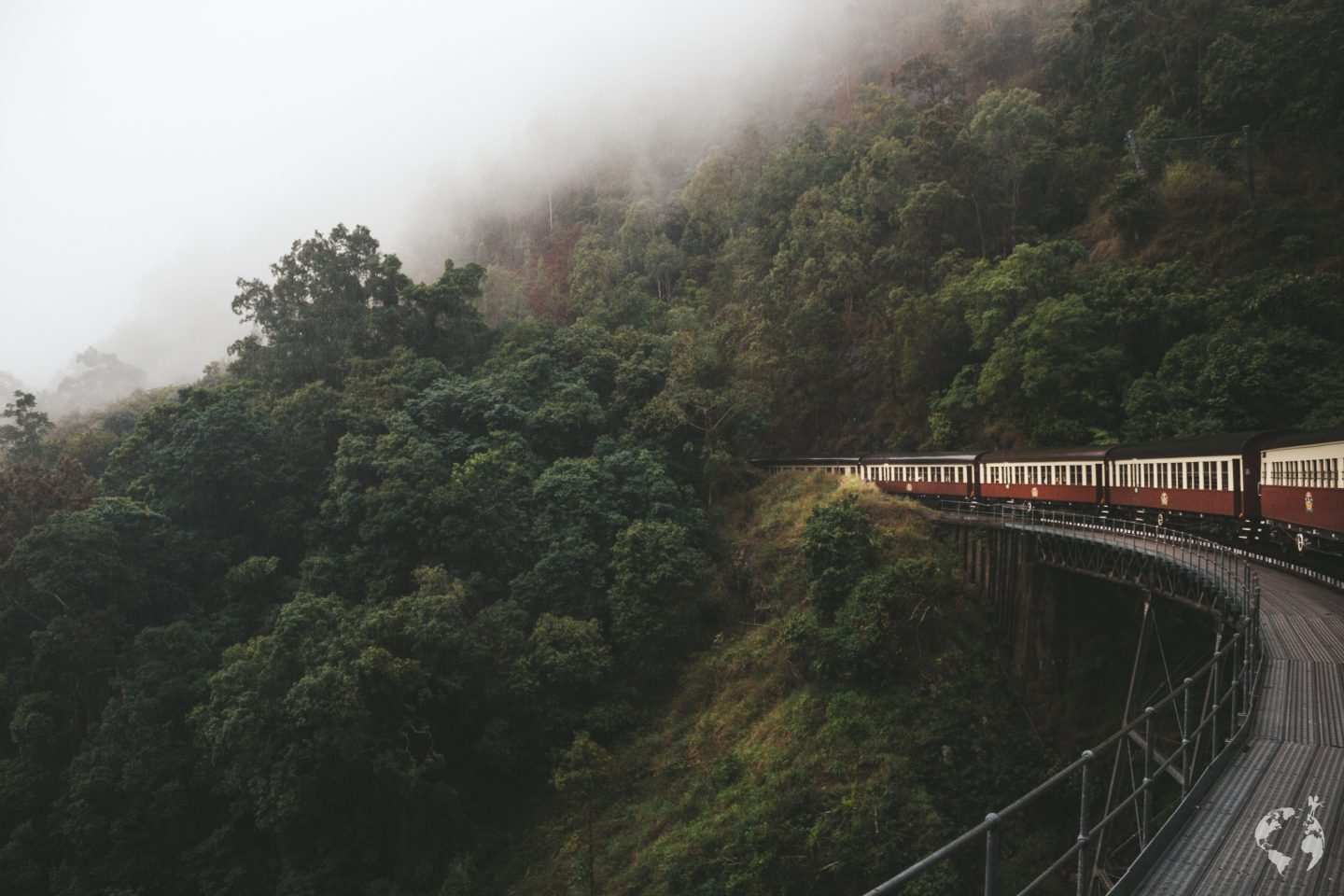 Cairns Kuranda train scenic railway price