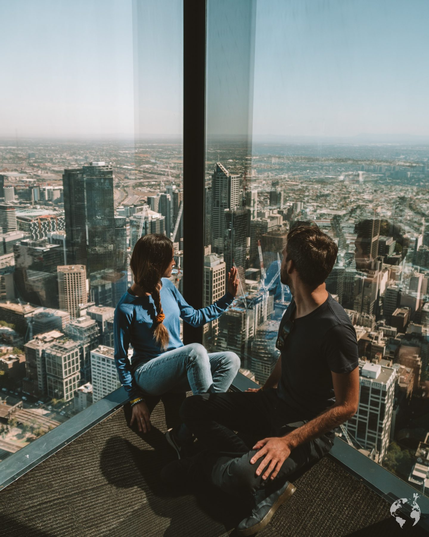 Eureka Tower-skydeck