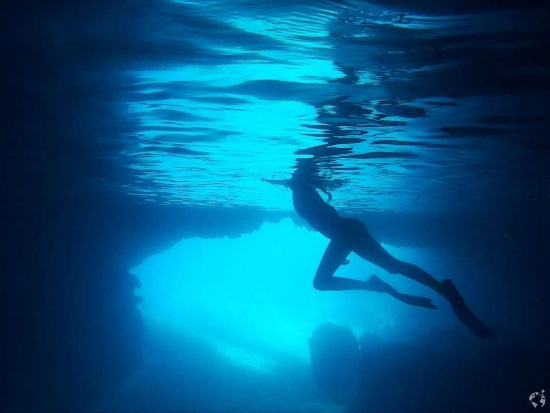 Blue cave tanna