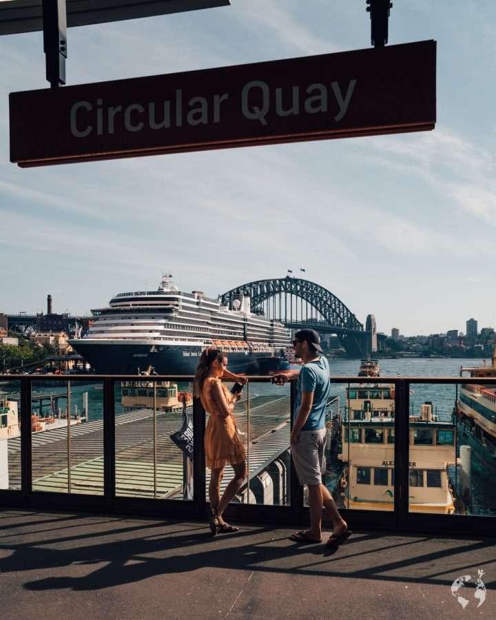 sydney circular quay station