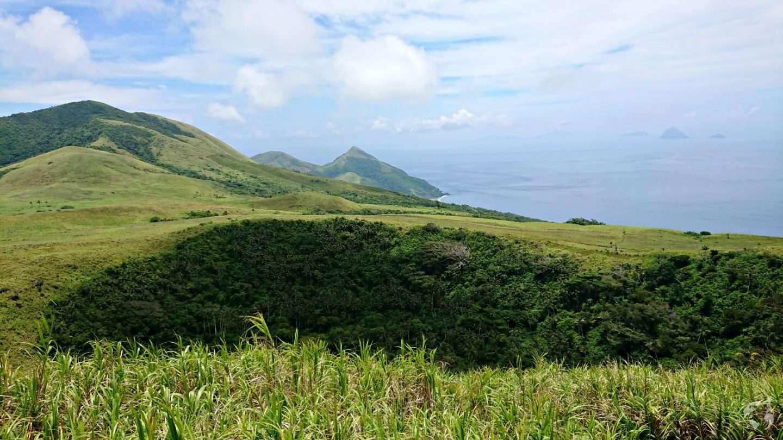 volcano nguna from moso port vila