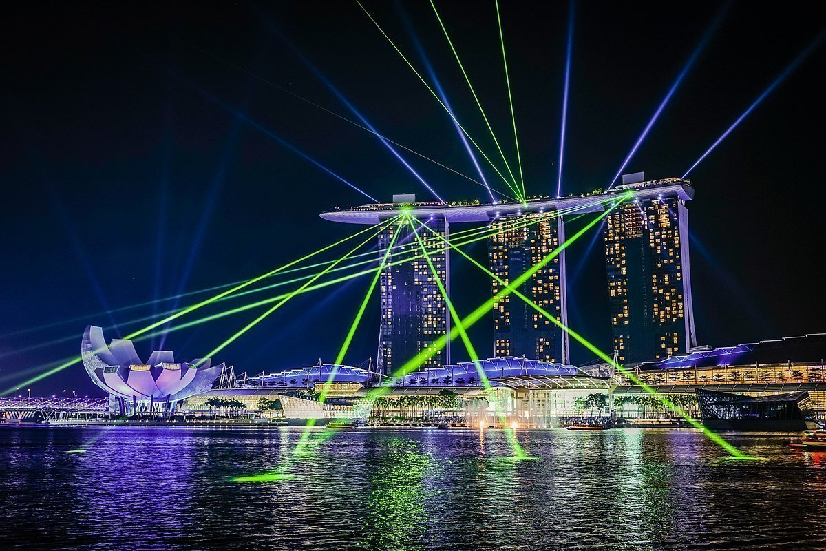 best place for photos singapore marina bay