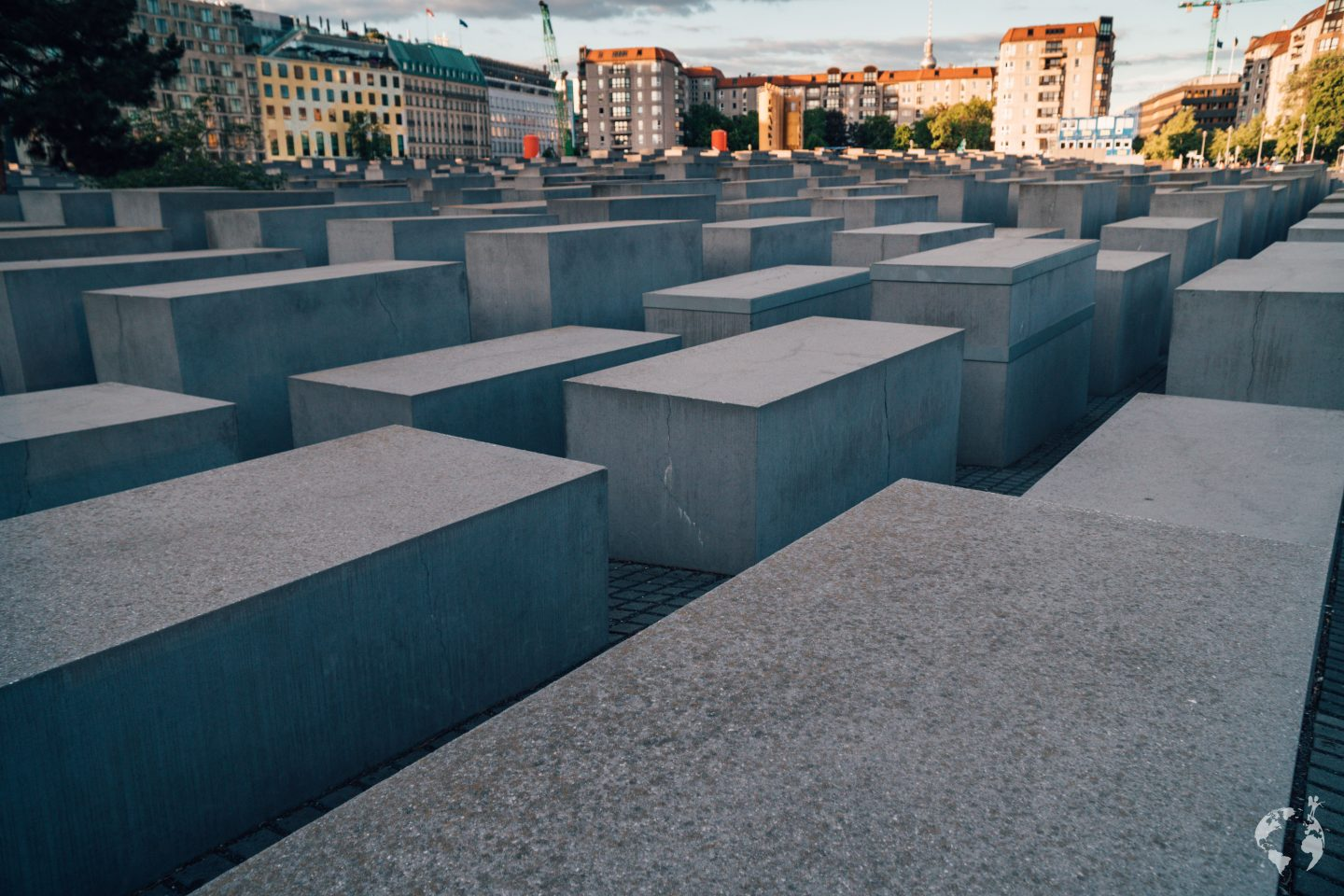 Holocaust Memorial Berlin where is it
