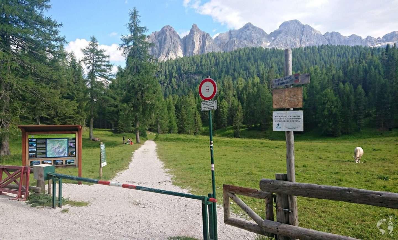 trail 215 how many kilometers dolomites