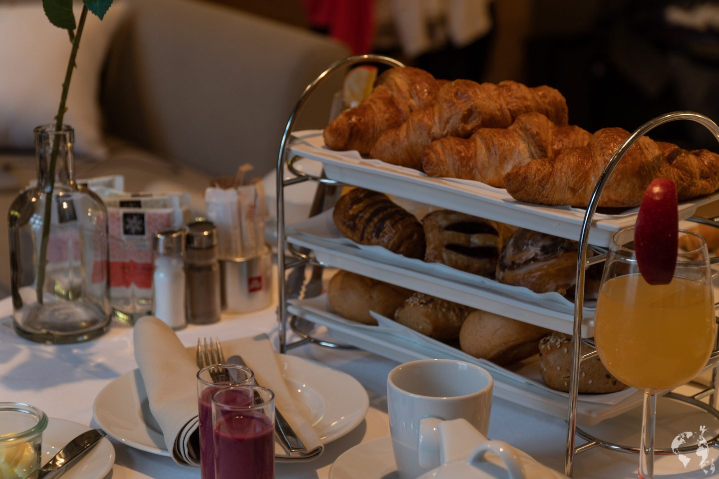 Wonderful breakfast meridien Vienna austria