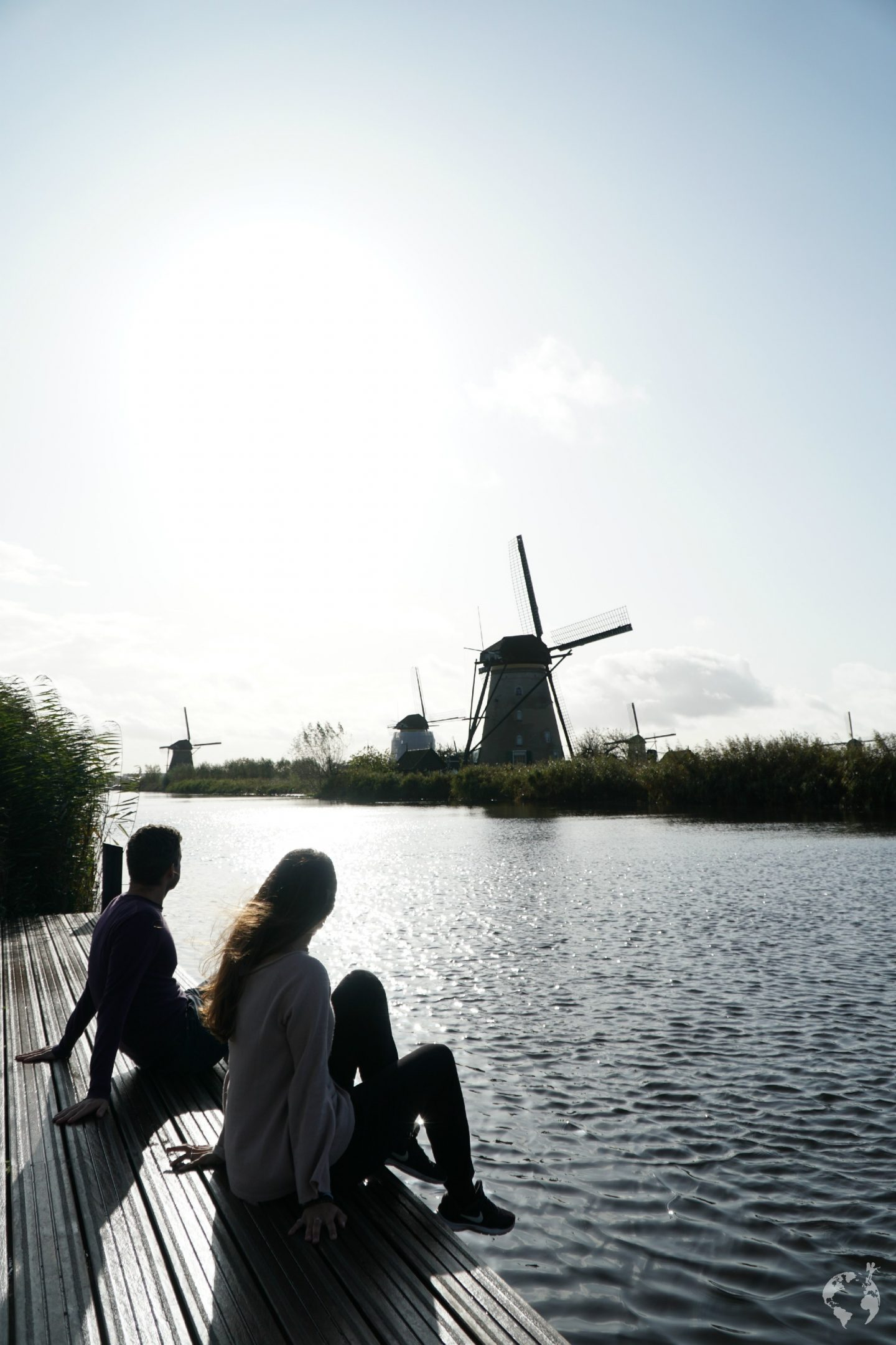 in treno kinderdijk mulini olanda