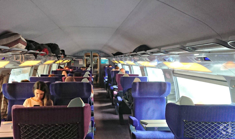 1st class 2nd class train europe
