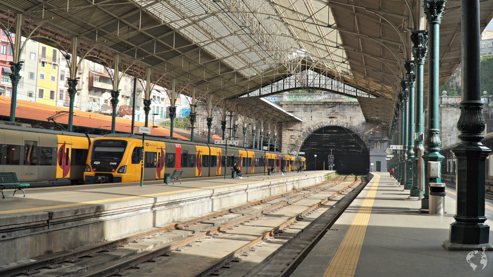 interrail itinerary beautiful station porto europe