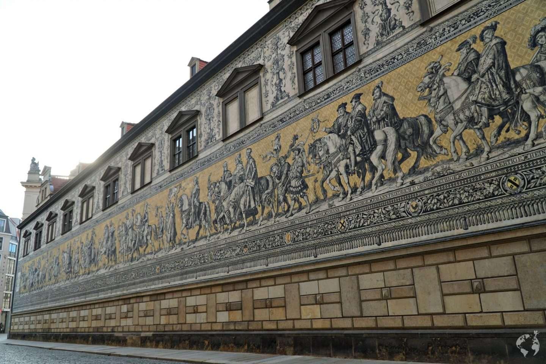 Furstenzug location Procession of Princes