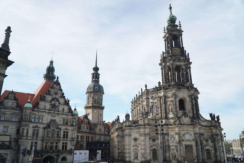 Dresden itinerario Dresda