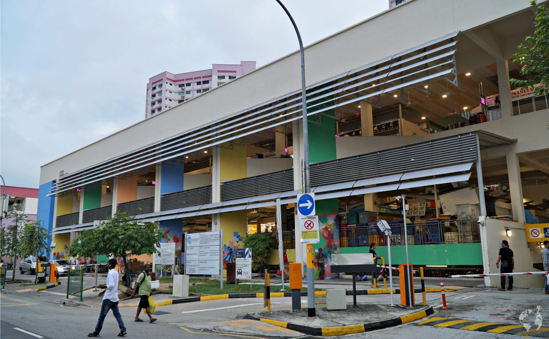 singapore hawker centre dove mangiare