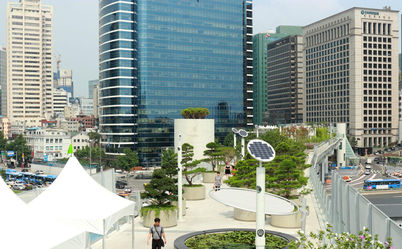 seoullo skypark southkorea