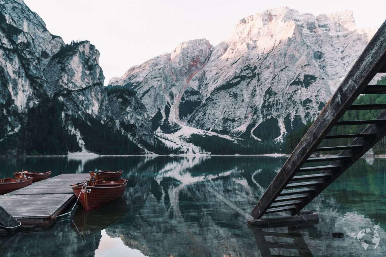 giro in barca Lago di Braies costo